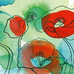 "Kartenmotiv ""Blumen"""