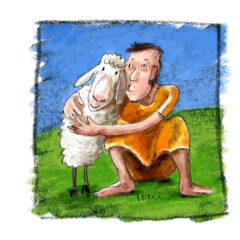 Illustration biblischer Geschichten für Kinder