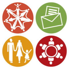 Symbole für eine Kirchengemeinde